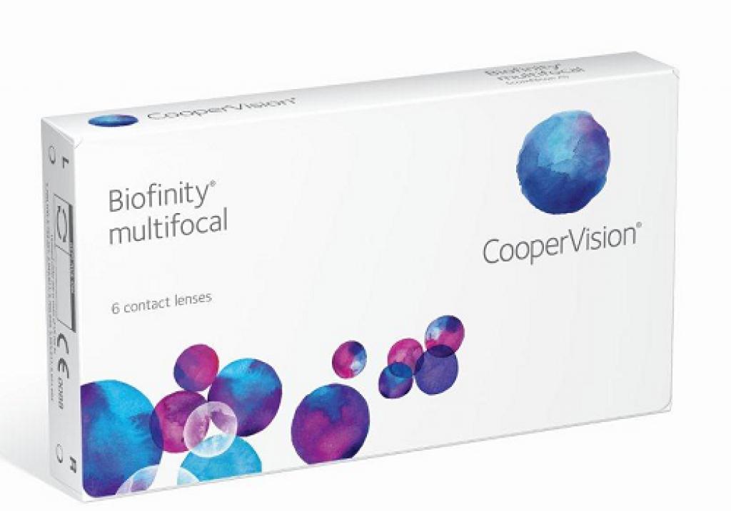 Cooper Vision - Biofinity  Multifocal